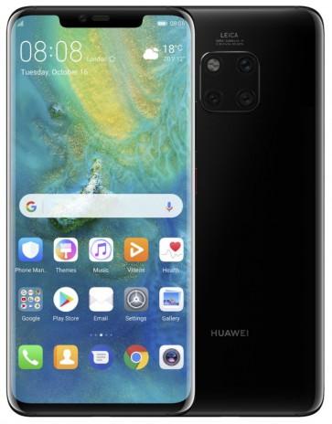 "HUAWEI Mate 20 Pro - Black   6,39"" QHD+/ 128GB/ 6GB RAM/ DualSIM/ foto zadní 40+20+8Mpx, přední 24Mpx/ LTE/ Android 9 SP-MATE20PDSBOM"