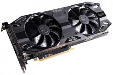 EVGA GeForce RTX 2060 SUPER SC ULTRA GAMING / 8GB GDDR6 / PCI-E / 2x DP / HDMI / DVI-D 08G-P4-3067-KR
