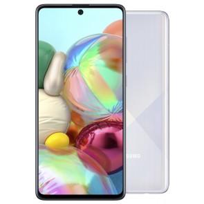 """Samsung Galaxy A71 (A715) - silver   6,7"""" AMOLED/ DualSIM/ 128GB/ 6GB RAM/ LTE/ Android 10 SM-A715FZSUXEZ"""