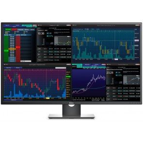 "ROZBALENÉ - DELL P4317Q UltraSharp/ 43"" LED/ 16:9/ 3840x2160/ 1000:1/ 6ms/ UHD/ 2xHDMI/ DP/ mDP/ VGA/ 4x USB 3.0/ IPS/ 3Y... MOND3000V"