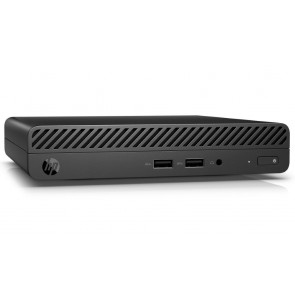 HP 260 G3 DM/ i3-7130U/ 4GB DDR4/ 128GB SSD/ Intel HD 620/ W10H/ černý 5BM35EA#BCM
