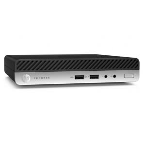 ROZBALENÉ - HP ProDesk 405 G4 DM/ Ryzen 5 Pro 2400GE/ 8GB DDR4/ 1TB (7200)/ Radeon RX Vega 11/ W10P/ Černý +kbd,myš POCHP1985V