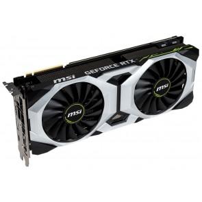 OPRAVENÉ - MSI GeForce RTX 2080 VENTUS 8G OC / 8GB GDDR6 / PCI-E / 3x DP / HDMI / USB Type-C VGMSI8625V