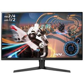 """LG Gaming monitor 32GK650F / 31,5"""" / VA / 2560x1440 / 16:9 / 350cd/m2 / 1ms / 144Hz / DP/ HDMI 32GK650F-B.AEU"""