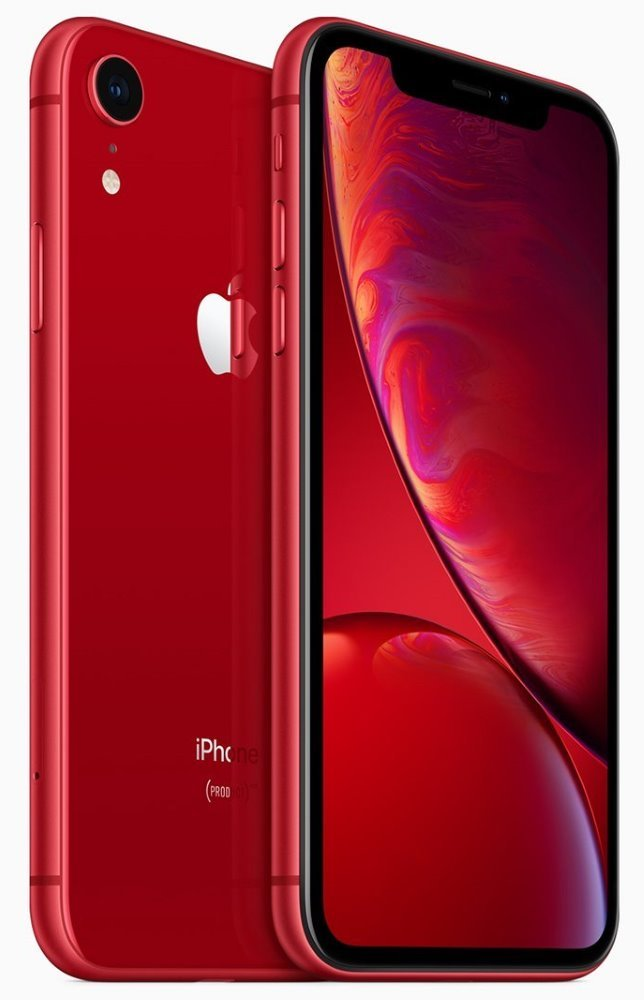 "Apple iPhone XR 64GB (PRODUCT)RED   6,1"" IPS Liquid Retina HD/ LTE/ Wifi AC/ NFC/ IP67/ iOS 12 mry62cn/a"