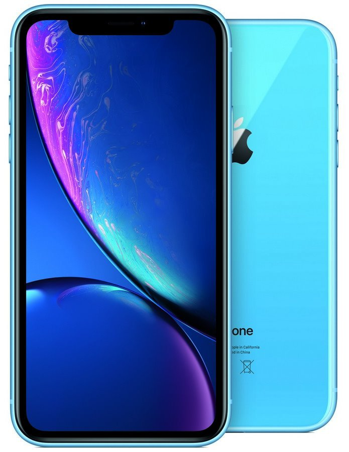 "Apple iPhone XR 64GB Blue   6,1"" IPS Liquid Retina HD/ LTE/ Wifi AC/ NFC/ IP67/ iOS 12 mrya2cn/a"