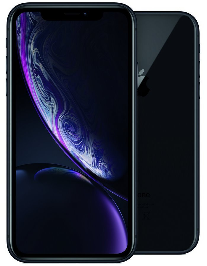 "Apple iPhone XR 128GB Black   6,1"" IPS Liquid Retina HD/ LTE/ Wifi AC/ NFC/ IP67/ iOS 12 mry92cn/a"