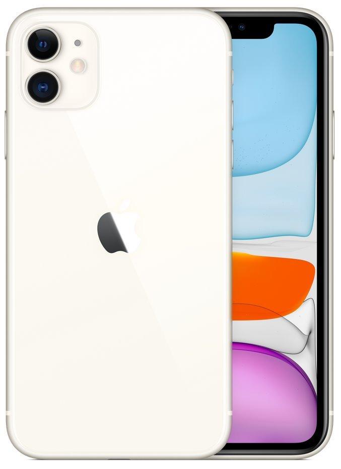 "Apple iPhone 11 64GB White   6,1"" IPS/ 4GB RAM/ LTE/ IP68/ iOS 13 mwlu2cn/a"