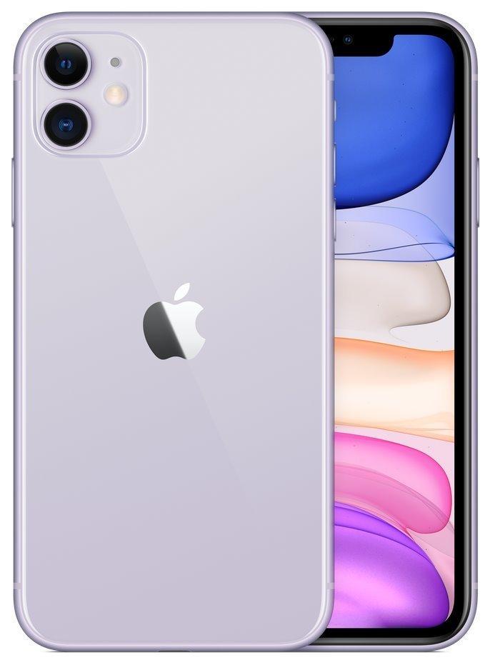 "Apple iPhone 11 128GB Purple   6,1"" IPS/ 4GB RAM/ LTE/ IP68/ iOS 13 mwm52cn/a"
