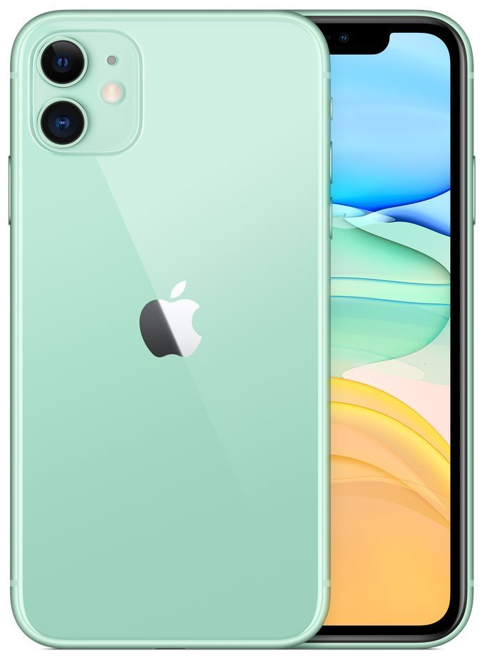 "Apple iPhone 11 128GB Green   6,1"" IPS/ 4GB RAM/ LTE/ IP68/ iOS 13 mwm62cn/a"
