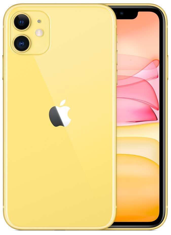 "Apple iPhone 11 256GB Yellow   6,1"" IPS/ 4GB RAM/ LTE/ IP68/ iOS 13 mwma2cn/a"