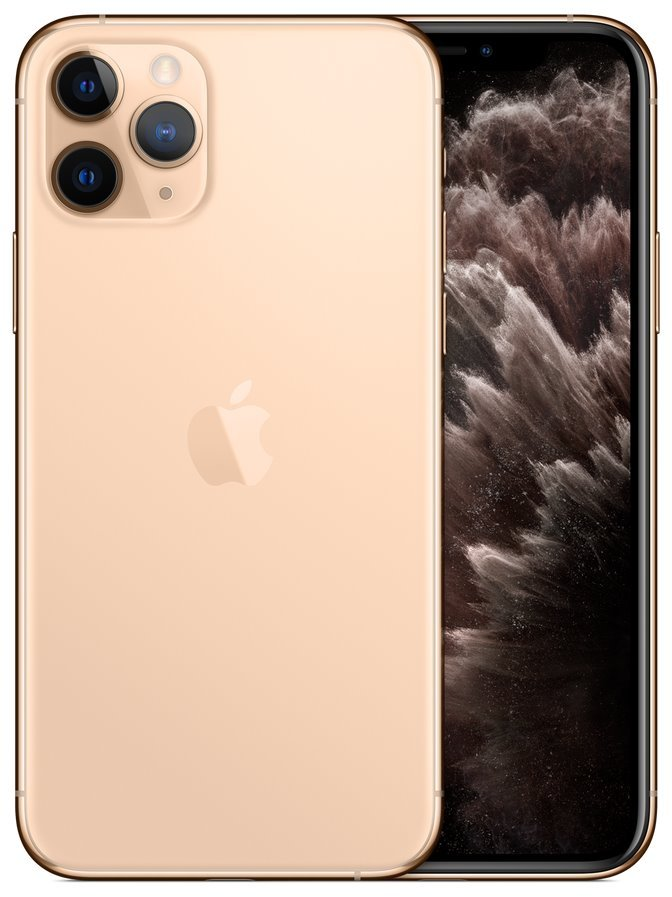 "Apple iPhone 11 Pro 64GB Gold   5,8"" OLED/ 6GB RAM/ LTE/ IP68/ iOS 13 mwc52cn/a"
