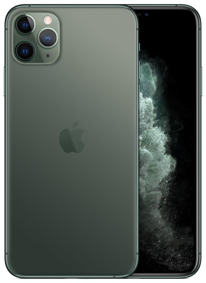 "Apple iPhone 11 Pro Max 64GB Midnight Green   6,5"" OLED/ 6GB RAM/ LTE/ IP68/ iOS 13 mwhh2cn/a"