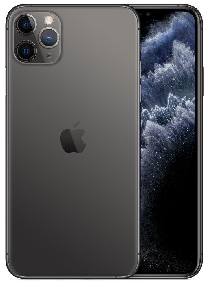 "Apple iPhone 11 Pro Max 512GB Space Grey   6,5"" OLED/ 6GB RAM/ LTE/ IP68/ iOS 13 mwhn2cn/a"