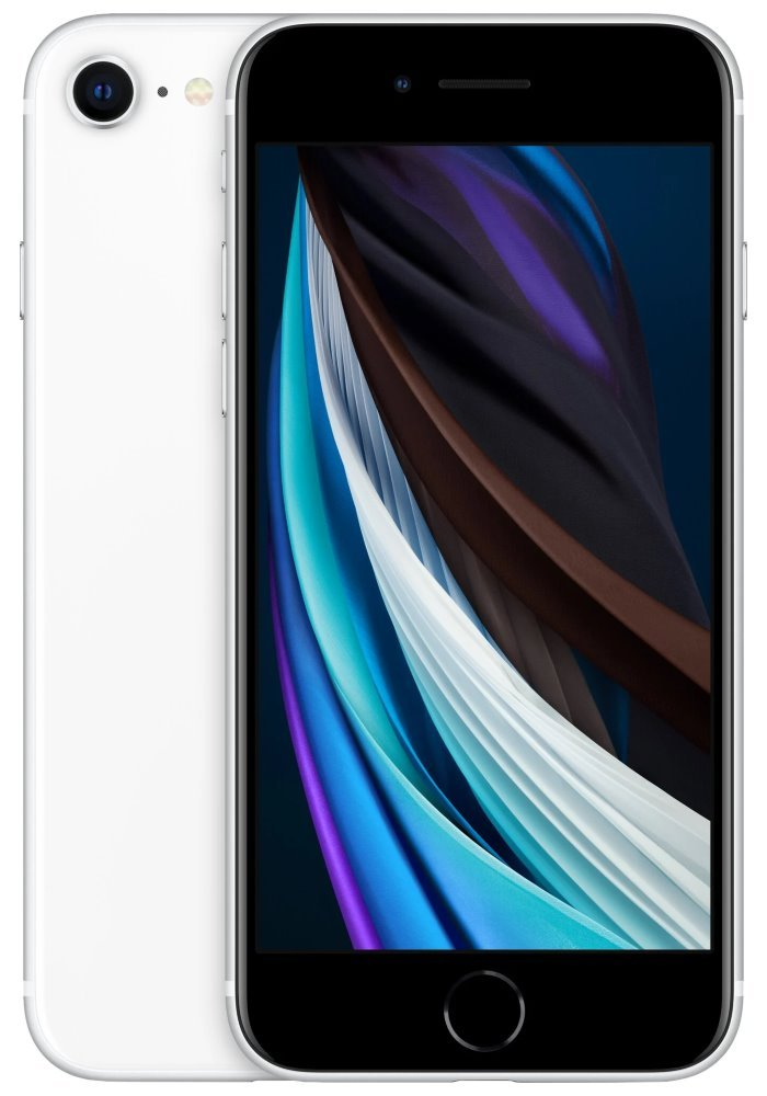 "Apple iPhone SE 64GB White (2020)   4,7"" IPS/ LTE/ IP67/ iOS 13 mx9t2cn/a"