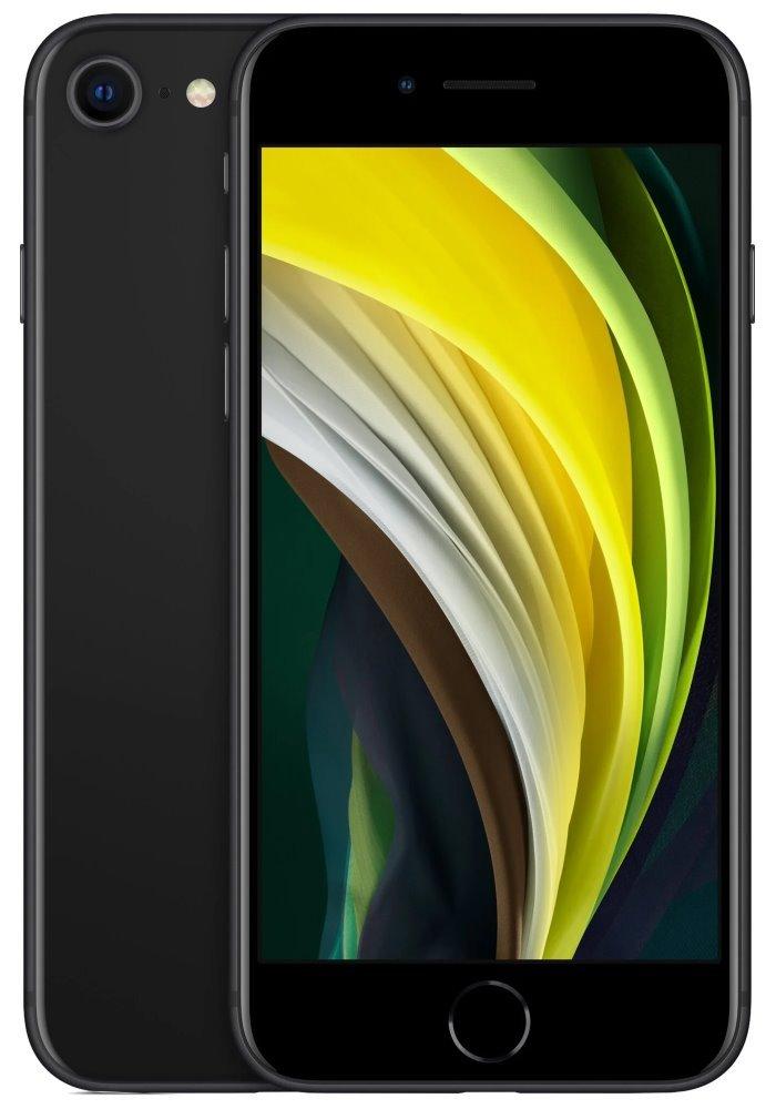 "Apple iPhone SE 128GB Black (2020)   4,7"" IPS/ LTE/ IP67/ iOS 13 mxd02cn/a"