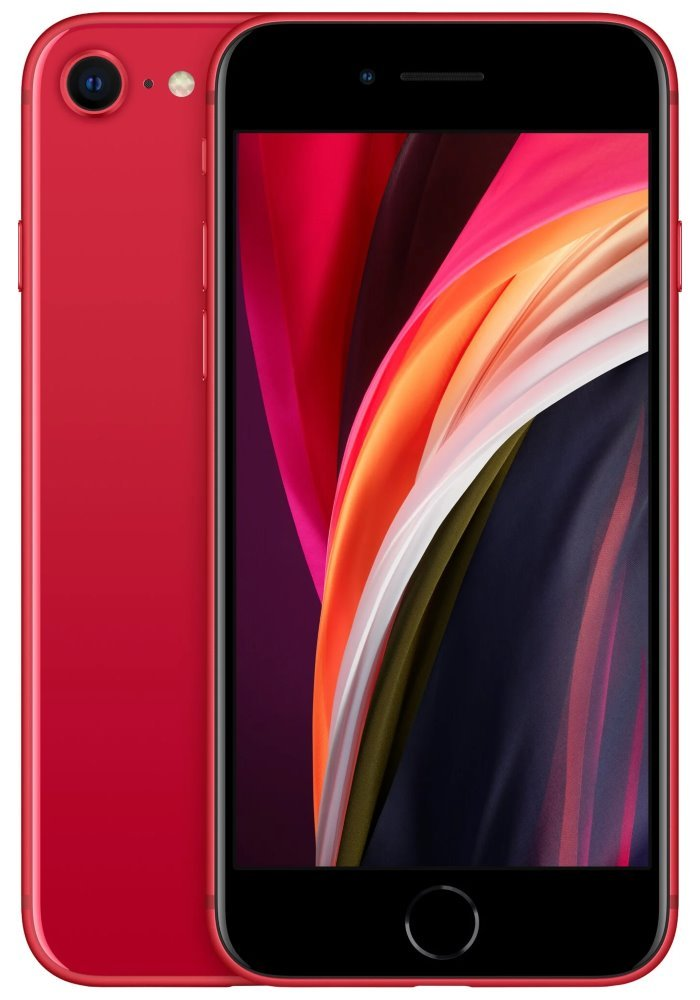 """Apple iPhone SE 256GB (PRODUCT)RED (2020)   4,7"""" IPS/ LTE/ IP67/ iOS 13 mxvv2cn/a"""