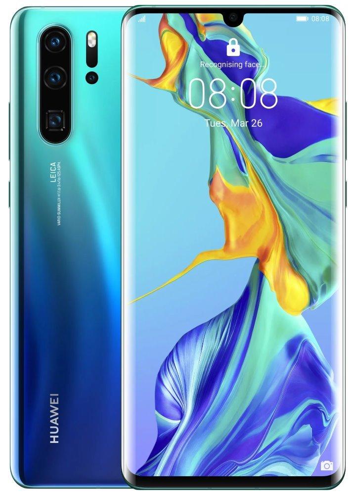 "HUAWEI P30 Pro - Gradient blue   6,47"" FHD+/ 128GB/ 6GB RAM/ foto zadní 40+20+8Mpx, přední 32Mpx/ IP68/ LTE/ Android 9 SP-P30P128DSLOM"