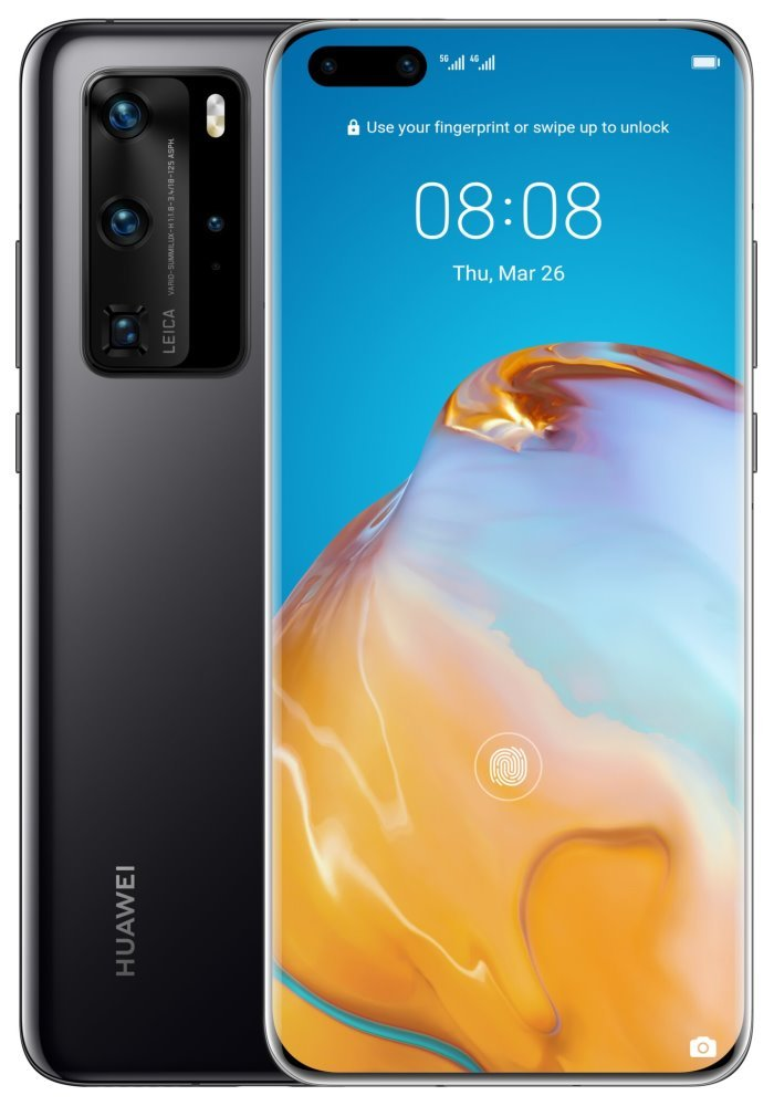 "HUAWEI P40 Pro - černá   6,58"" OLED/ 256GB/ 8GB RAM/ Dual SIM/ LTE/ Android 10 SP-P40P256DSBOM"
