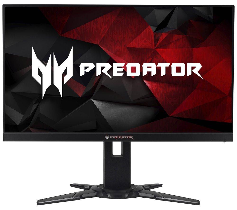 """Acer LCD Predator XB252Qbmiprzx / 24,5"""" LED 1920x1080/ 100M:1/ 1ms/ 400cd/ HDMI/ DP 1.2/ USB3.0 Hub/ repro/ černá UM.KX2EE.001"""