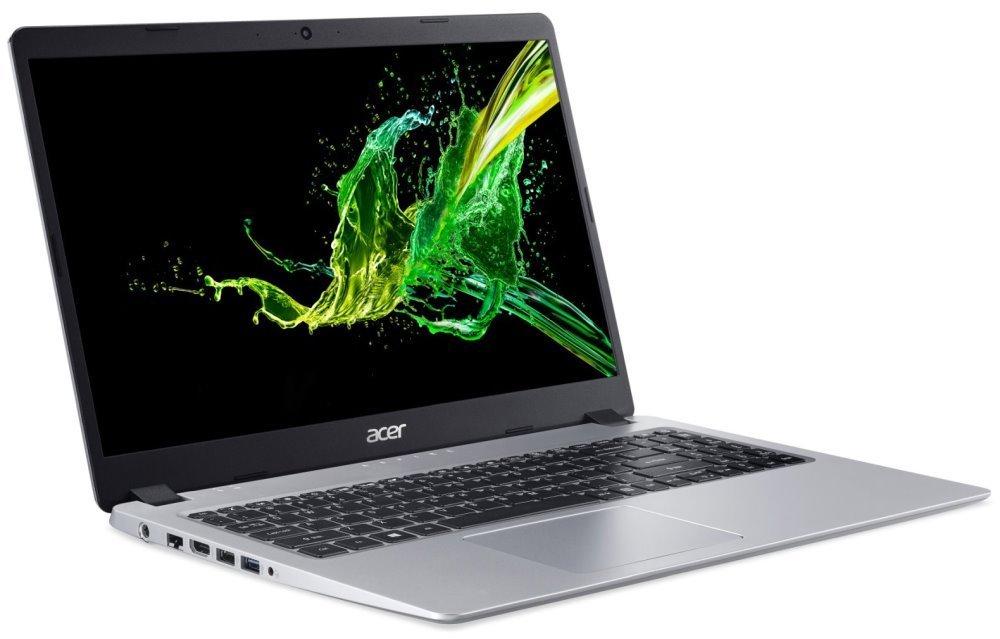 """Acer Aspire 5 (A515-43-R82V) AMD Ryzen 3 3200U / 4GB+N / 128GB+N / 15,6"""" FHD IPS / Vega 3 Graphics / W10S / stříbrný NX.HGXEC.002"""