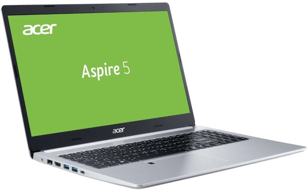 """Acer Aspire 5 (A515-54G-5182) / i5-10210U/ 16GB/ 512GB SSD/ 15,6""""FHD IPS LED/ W10H/ stříbrný NX.HV7EC.005"""
