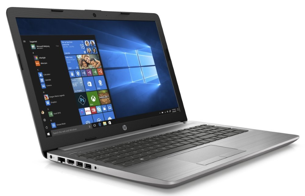 "HP 250 G7/ i3-7020U/ 4GB DDR4/ 256GB SSD/ Intel HD 620/ 15,6"" FHD SVA/ DVD-RW/ W10H/ stříbrný 6BP35EA#BCM"