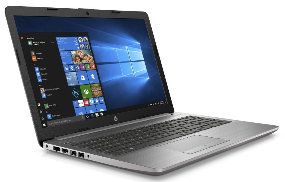 "HP 250 G7/ i3-7020U/ 8GB DDR4/ 256GB SSD/ Intel HD 620/ 15,6"" FHD SVA/ DVD-RW/ W10P/ stříbrný 6BP50EA#BCM"