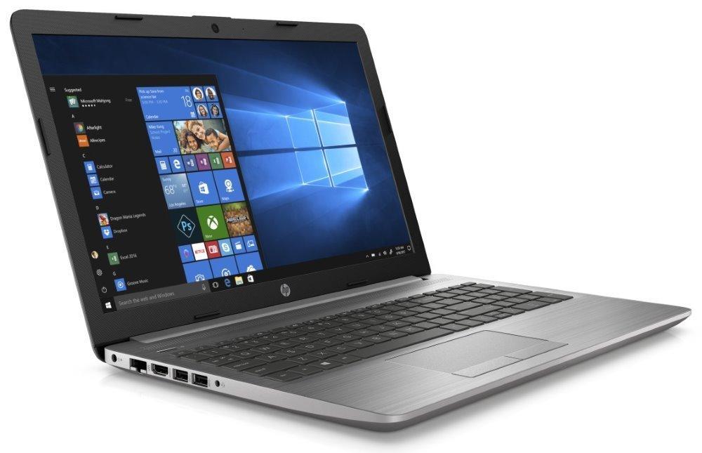 """HP 250 G7/ i3-7020U/ 8GB DDR4/ 256GB SSD/ Intel HD 620/ 15,6"""" FHD SVA/ DVD-RW/ W10H/ Stříbrný 6UM46ES#BCM"""