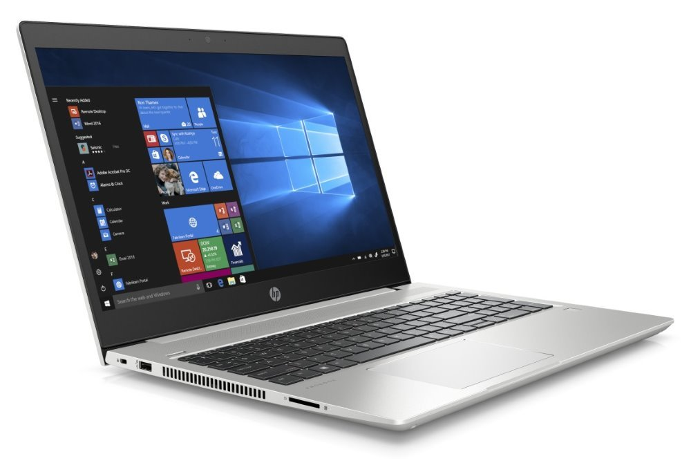 "HP ProBook 450 G6/ i5-8265U/ 8GB DDR4/ 256GB SSD + 1TB (5400)/ Intel UHD 620/ 15,6"" FHD IPS/ W10P/ Stříbrný 6HL98EA#BCM"