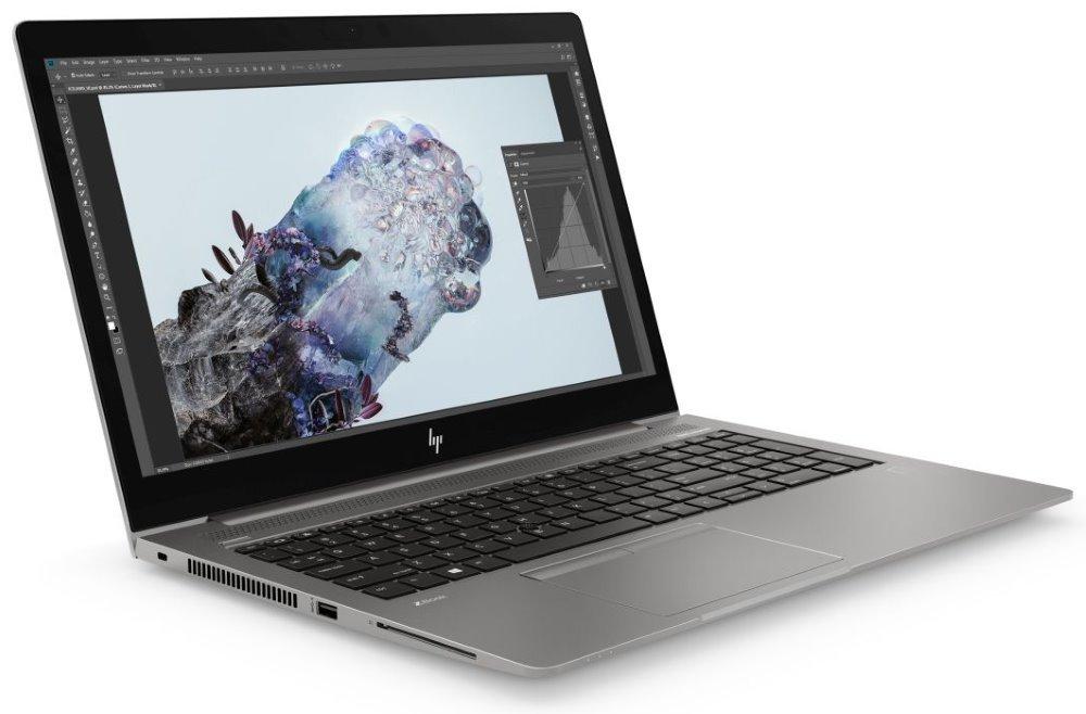 "HP Zbook 15u G6/ i7-8565U/ 16GB DDR4/ 512GB SSD/ WX3200 4GB/ 15,6"" FHD IPS/ W10P/ Stříbrný 6TP59EA#BCM"
