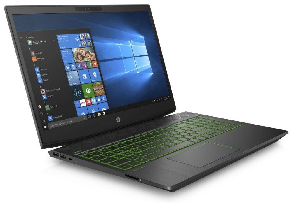 """HP Pavilion Gaming 15-cx0035nc/ i5-8300H/ 8GB DDR4/ 512GB SSD/ GTX1050Ti 4GB/ 15,6"""" FHD IPS/ W10H/ Černý 8RR01EA#BCM"""