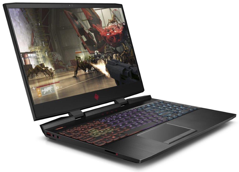 """HP Omen 15-dc1108nc/ i7-9750H/ 16GB DDR4/ 1TB SSD/ GTX 1660Ti 6GB/ 15,6"""" FHD IPS/ W10H/ Černý 8RV69EA#BCM"""