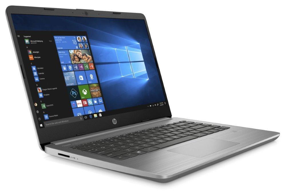 """HP 340S G7/ i3-1005G1/ 8GB DDR4/ 256GB SSD/ Intel UHD G1/ 14"""" FHD IPS/ W10P/ Stříbrný 9HQ85ES#BCM"""