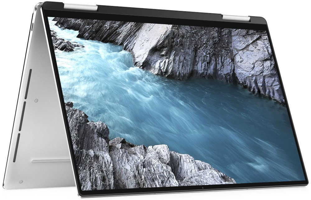 """DELL XPS 13 (7390) 2v1 Touch/ i7-1065G7/ 16GB/ 512GB SSD/ Iris Plus/ 13.4"""" FHD+ dotyk/ FPR/ W10/ stříbrný/ 2Y Basic TN-7390-N2-721SK"""