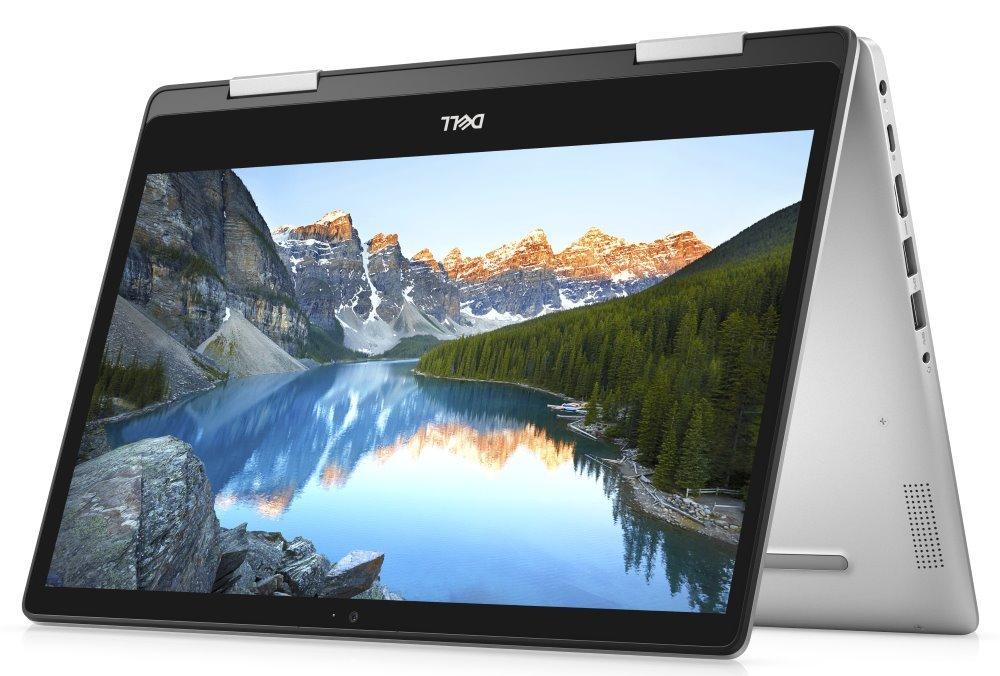 """DELL Inspiron 14z 5000 2v1 (5491) Touch / i5-10210U/ 8GB/ 256GB SSD/ 14"""" FHD/ W10/ stříbrný/ 2Y Basic on-site TN-5491-N2-511S"""