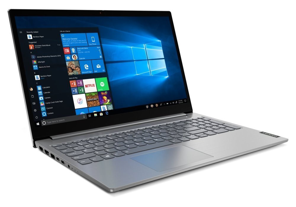 "Lenovo ThinkBook 15/ i5-1035G4/ 8GB DDR4/ 256GB SSD/ Intel Iris Plus G4/ 15,6"" FHD IPS/ W10P/ šedý 20SM001VCK"