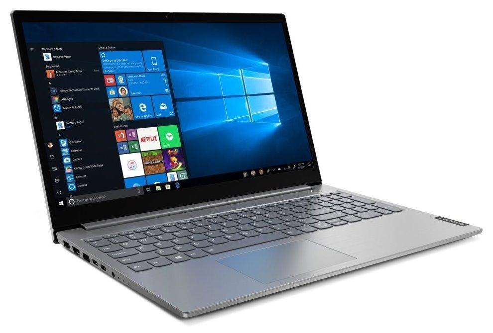 "Lenovo ThinkBook 15-IIL / i7-1065G7/ 8GB DDR4/ 512GB SSD/ Intel UHD/ 15,6"" FHD IPS/ W10P/ šedý 20SM005UCK"