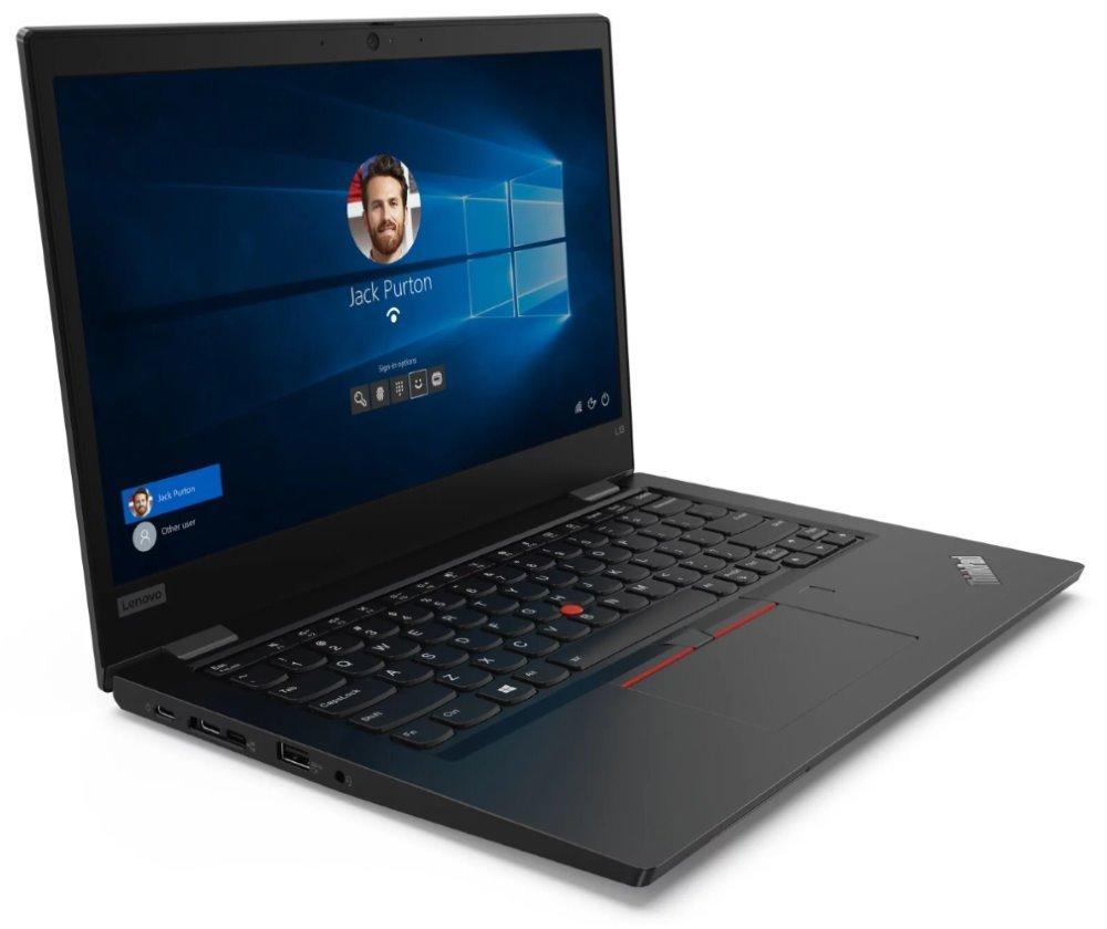 """Lenovo ThinkPad L13/ i5-10210U/ 8GB DDR4/ 512GB SSD/ Intel UHD 620/ 13,3"""" FHD IPS/ W10P/ Černý 20R30008MC"""