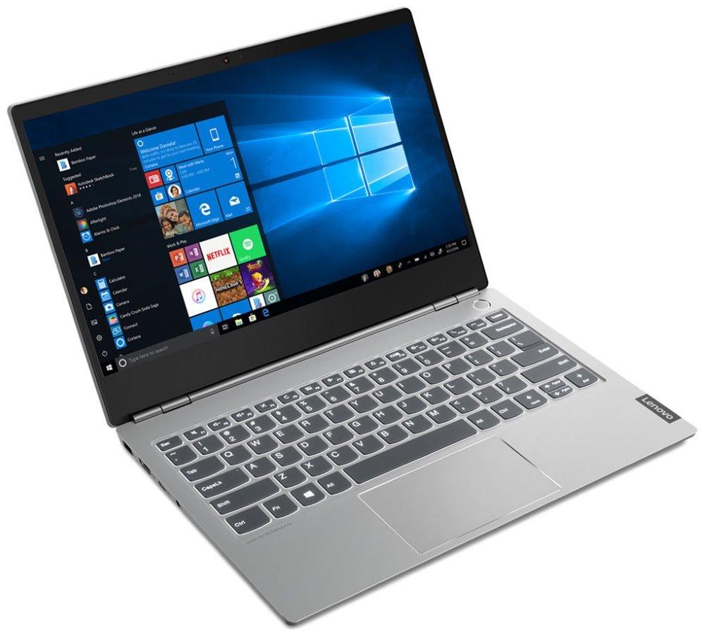 """Lenovo ThinkBook 13s/ i7-8565U/ 16GB DDR4/ 512GB SSD/ Intel UHD 620/ 13,3"""" FHD IPS/ W10P/ Šedý 20R90074CK"""