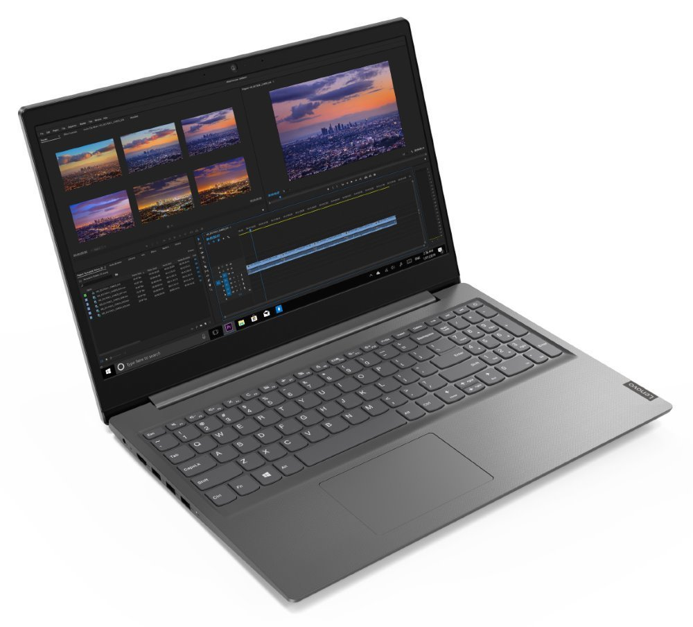 "Lenovo V15-IWL/ i5-8265U/ 8GB DDR4/ 256GB SSD/ Intel UHD 620/ 15,6"" FHD TN/ W10P/ Šedý 81YE000BCK"