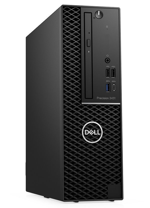 DELL Precision T3431 SFF/ i7-9700/ 16GB/ 256GB SSD/  Quadro P620 2GB/ W10Pro/ vPro/ 3Y PS on-site 2T45M