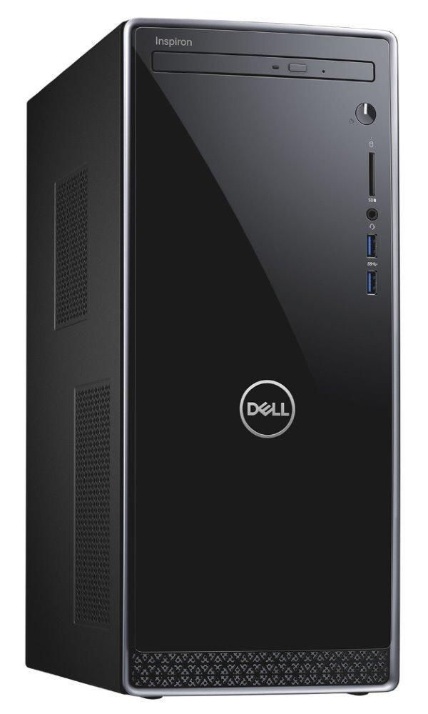 DELL Inspiron 3671/ i7-9700/ 8GB/ 256GB SSD + 1TB/ DVDRW/ Nv GF 1650 4GB/ WiFi/ W10Pro/ 3Y Basic on-site 3671-69623