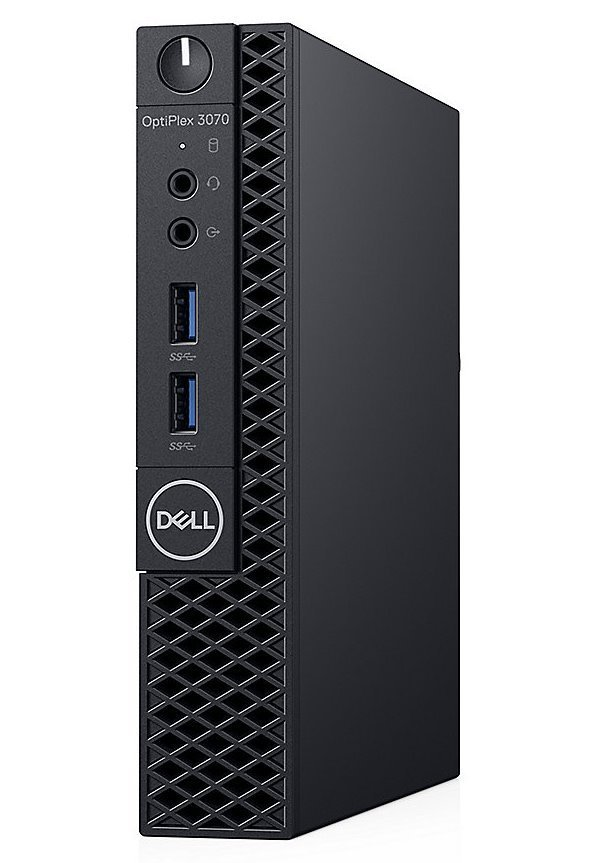 DELL OptiPlex 3070 Micro MFF/ i3-9100T/ 4GB/ 128GB SSD/ Wifi/ W10Pro/ Micro MFF PC/ 3Y Basic on-site GRXY8