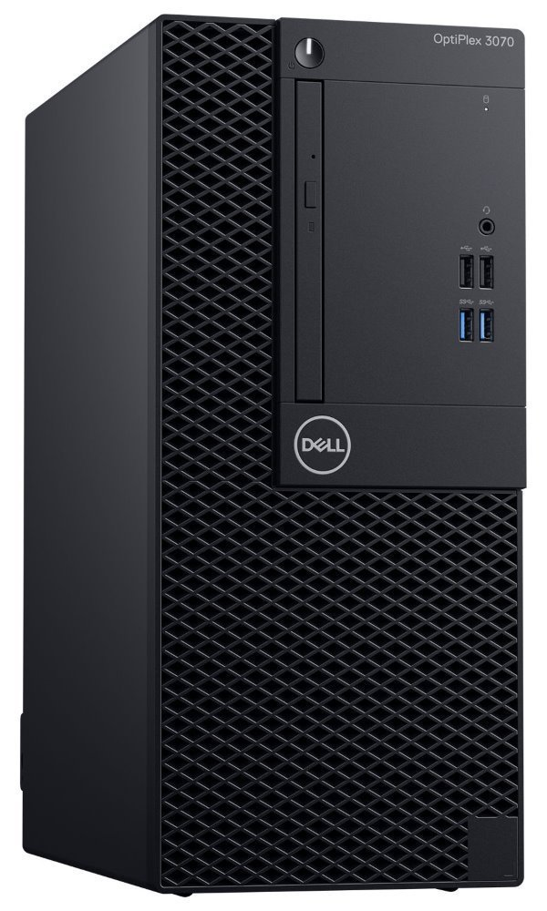 DELL OptiPlex 3070 MT/ i3-9100/ 8GB/ 256GB SSD/ DVDRW/ W10Pro/ 3Y Basic on-site PY39G