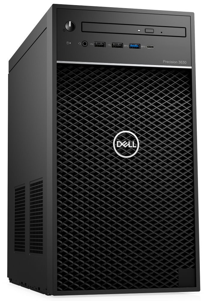DELL Precision T3630/ Xeon E-2274G/ 16GB/ 256GB + 1TB (7200)/ Quadro P2200/ W10Pro/  3Y PS on-site 594CR