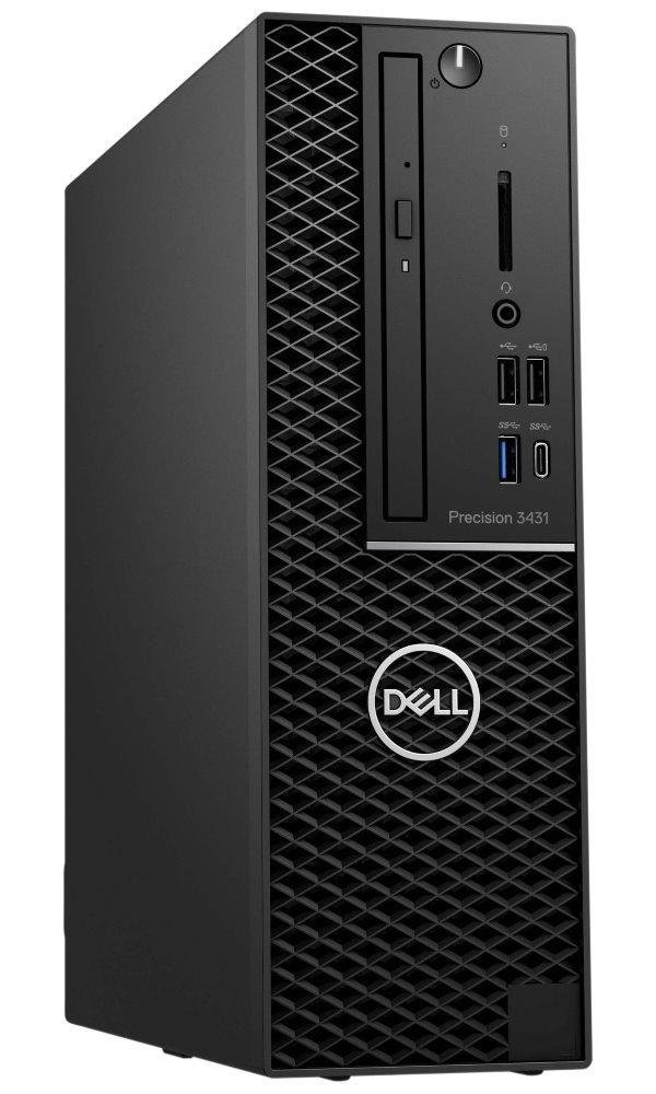 DELL Precision T3431 SFF/ i7-9700/ 16GB/ 512GB SSD/ Quadro P620 2GB/ W10Pro/ 3Y PS on-site 3431-001