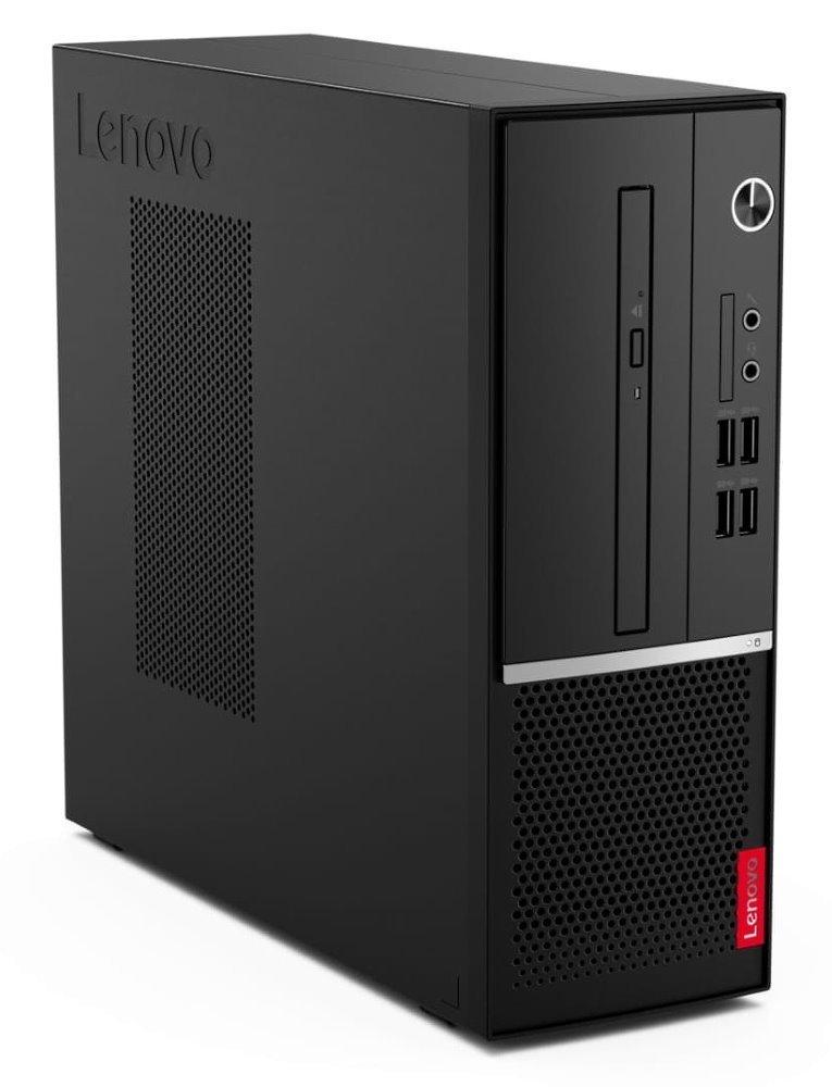 Lenovo V530s/ SFF/ i3-9100/ 4GB DDR4/ 128GB SSD/ Intel UHD 630/ DVD-RW/ W10P/ Černý +kbd,myš 11BM001RMC