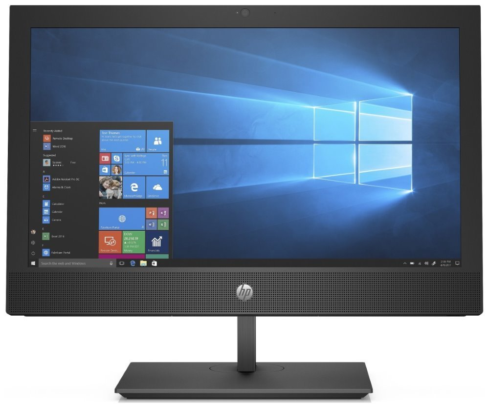 "HP ProOne 400 G4 AiO/ i5-8500T/ 4GB DDR4/ 500GB (7200)/ Intel UHD 630/ 20"" HD+TN/DVD-RW/ W10P+usb kbd,myš 4NT82EA#BCM"
