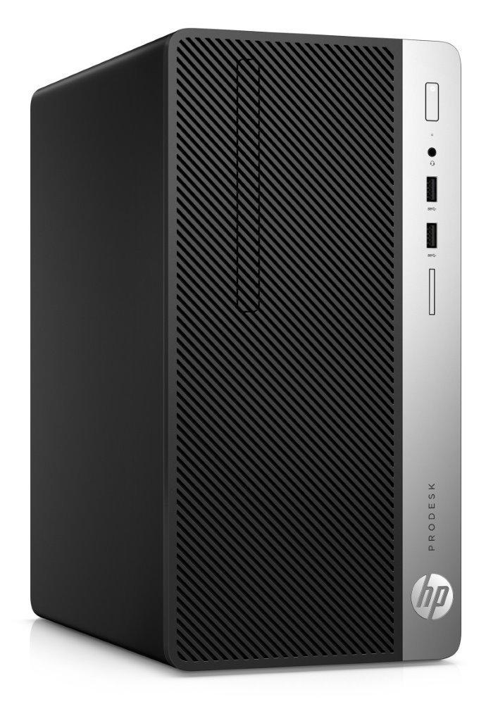 HP ProDesk 400 G6 MT/ i3-9100/ 8GB DDR4/ 256GB SSD/ Intel UHD 630/ DVD-RW/ W10P/ Černý +kbd,myš 7EL66EA#BCM